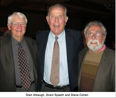 Steve Cohen w/Grant Spaeth and Dr. Glen Albaugh