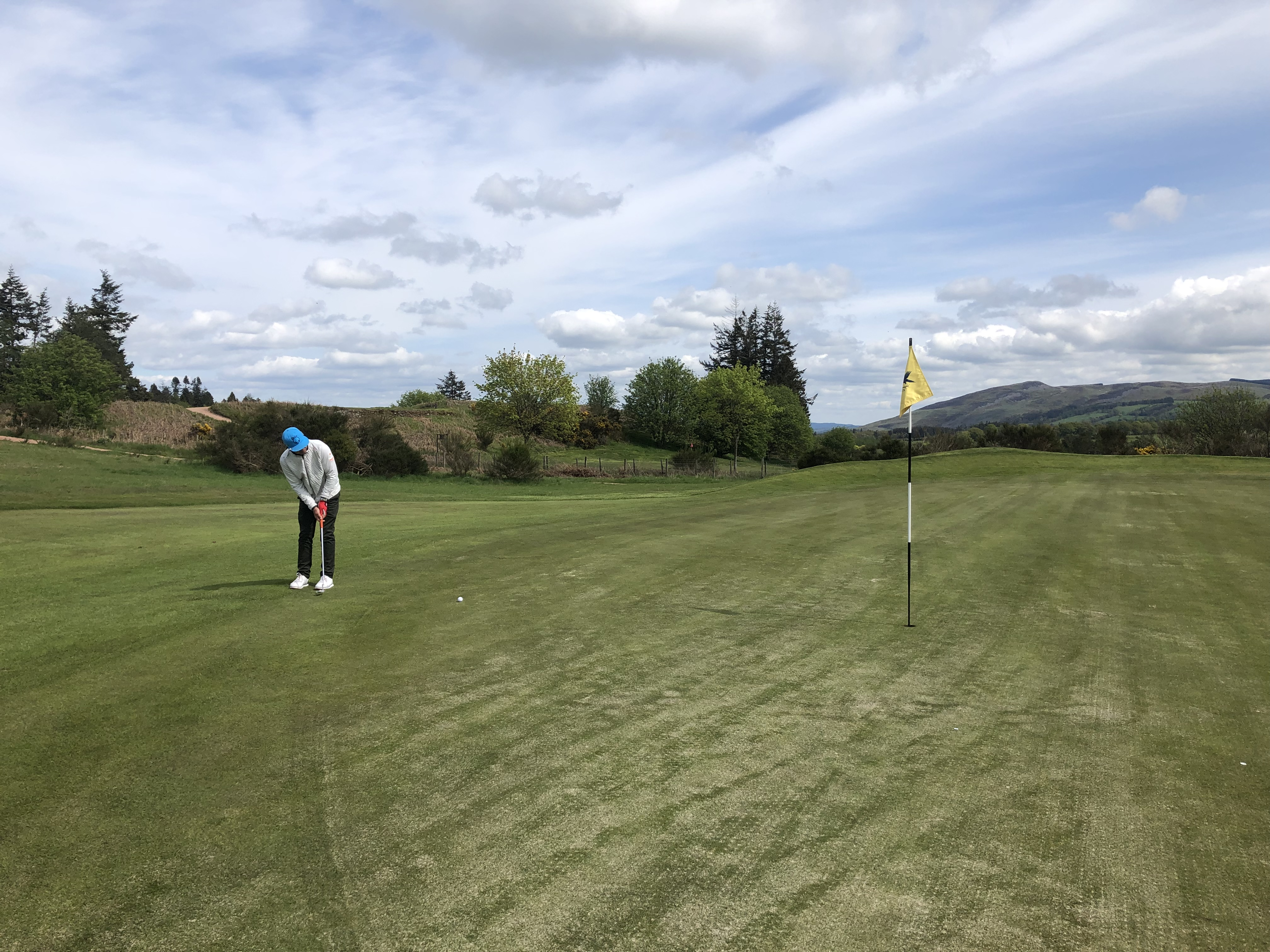 putting at Gleneagles